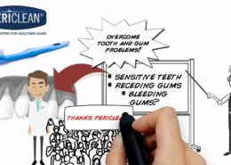 Dentist Recommended PeriClean® Toothbrush for Sensitive Teeth and Receding Gums